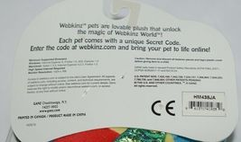 GANZ Brand Webkins Collection HM438 Rainbow Colored Plush Pucker Fish image 8