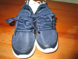 NEW CAT & JACK Zachary Navy Sneakers Athletic Shoes Toddler Boys size 7 - $13.50