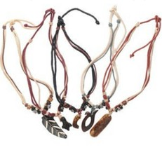 "~5 PACK NECKLACE MIX~BRANDNEW TRIBAL Style 22"" Necklace SHIPS FAST FROM U.S - $11.19"