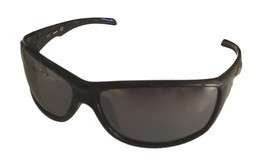 Timberland Mens Sunglass Shiny Black Rectangle, Plastic, Flash Lens TB71... - $17.99