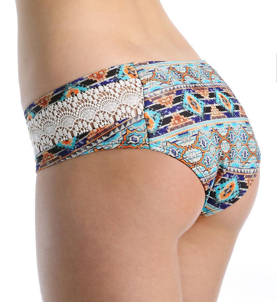 NEW L*Space Zanzibar Twilight Hipster Bikini Swim Bottom SND L Large ZATWF16
