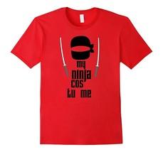This Is My Ninja Costume Shirt Funny Halloween Scary Tee Men - €11,94 EUR+