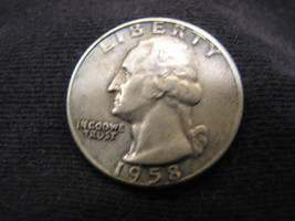 1958-D Washington Quarter - Silver - $2.95