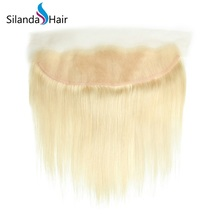 "Silanda Hair Brazilian Remy Human Hair 13""X4"" Lace Frontal Closure Straight #613 - $99.90+"