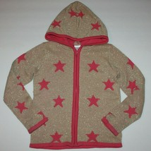 Gymboree Star Of The Show Sparkle Star Sweater Hoodie 5 6 - $16.99