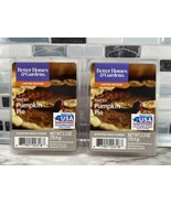2pc Better Homes & Gardens Limited Edition SPICED PUMPKIN PIE Scented Wa... - $7.86