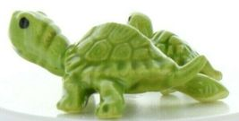 Hagen Renaker Miniature Turtle Mama and Baby Ceramic Figurine Set image 6