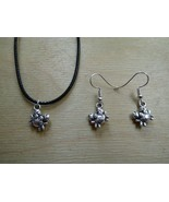 Tropicalia Handcrafted Necklace Earrings Crabs Sea Theme Tibetan Silver ... - $1.50+