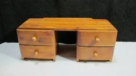 Vintage Solid Cedar Wood Vanity Dresser Weiser Idaho Hells Canyon no mir... - $39.95