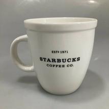 Starbucks Barista 18 oz White Coffee Mug 2001 est 1971 - $27.93