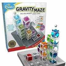 ThinkFun Gravity Maze Marble Run Brain Game and STEM Toy for Boys Girls...  - $52.30