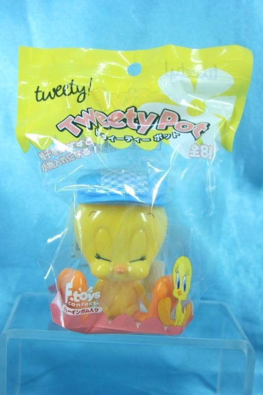 Primary image for F-Toys Warner Bros Looney Tunes Tweety Bird Pot Mini Box Figure H