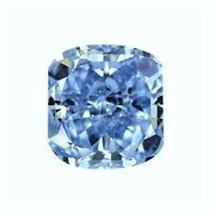 CUSHION SAPPHIRE AQUA BLUE 10X10 mm. LOOSE VVS HARDNESS 9 DIAMOND-SPARKLING - $38.55