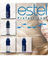 Estel professional Curex De Luxe balm shampoo before and after dyed hair - $58.00