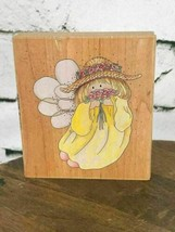 "Fairy Rubber Stamp by Stamps Happen Inc #70021 Sunshine Mounted 4""X3.5"" - $9.89"