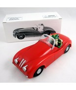 Geico Gecko Lizard Driving Red Jaguar Car with Box Insurance Advertising... - $48.51
