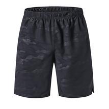 Summer Men Quick Dry Workout Running Shorts Elastic Waist Polyester Big Pockets  - $42.80