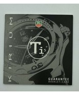 TAG Heuer Kirium Guarantee Booklet+Card Instruction Manual - $29.99