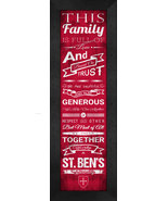 College of Saint Benedict and Saint John's University 24 x 8 Family Chee... - $39.95