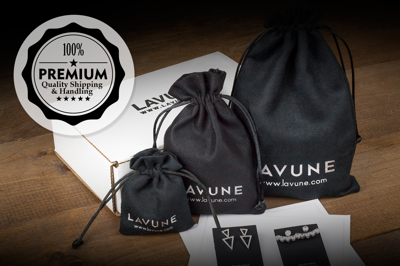 Lavune shipping banner