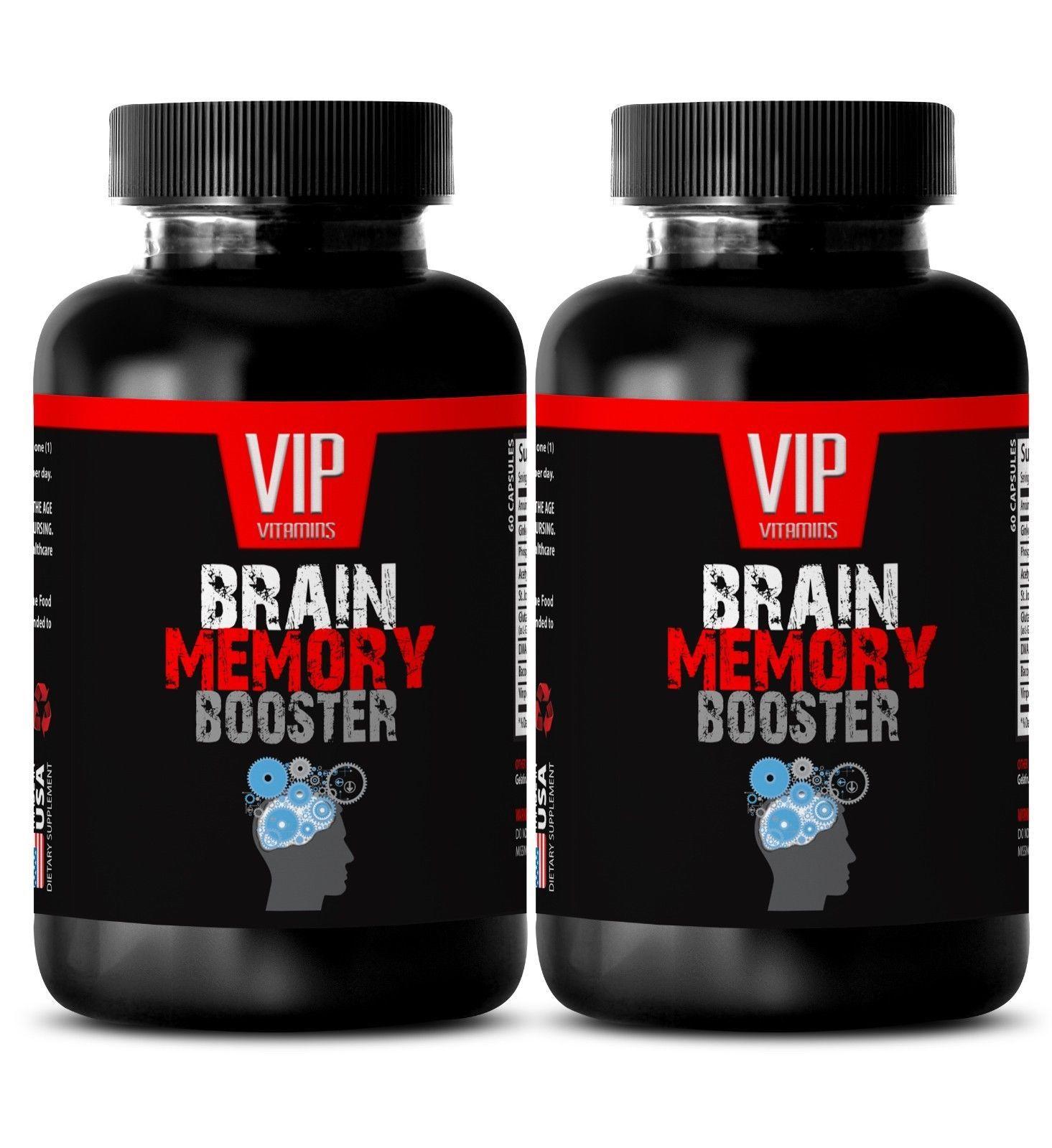 energy boost for women - BRAIN MEMORY BOOSTER - brain memory focus - 2 Bottles - $24.27