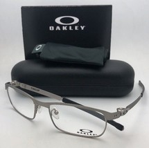 New OAKLEY Eyeglasses TINCUP OX3184-0452 52-17 135 Powder Steel Frames - $269.95