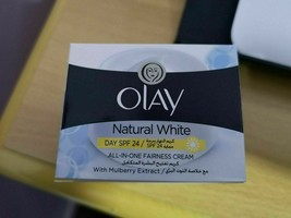 3X Olay natural white cream with mulberry leaf extract 50 Gram كريم اولي - $48.56