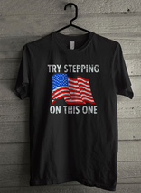 Try Stepping On This One - Custom Men's T-Shirt (622) - $19.13+