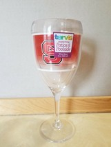 NEW NC State NCSU Wolfpack Tervis Poolside Acrylic Wine Glass Goblet Go Pack! - $9.99