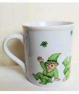 Set of 4 Leprechaun Mugs Erin Go Braugh  Vintage Ron Gordon Designs - $39.00