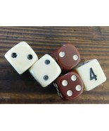 Backgammon Game Replacement Pieces 4 Dice and D... - $14.82