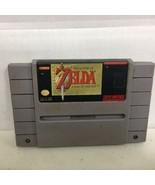 Legend of Zelda Link to the Past - GAME ONLY  - SUPER NINTENDO SNES 54 - $22.24