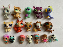 Lot Of 17 Littlest Pet Shop Figurines - $38.79