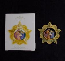 Hallmark Keepsake Star Of Nativity Ornament Jesus Mary Joseph 2009 - $14.84