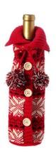 "11"" Alpine Chic Red, Black and Cream Snowflake Nordic Design Knit Christ... - $245,22 MXN"