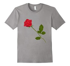 Red Rose Flower T-Shirt Men - $17.95+