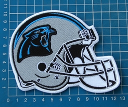Carolina Panthers  NFL  Football Superbowl Jersey HELMET Patch sew  embr... - $20.00