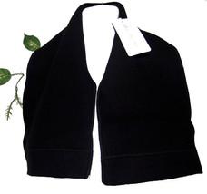 Dolce & Gabbana Black Men Woman Unisex Wool Blend Italian Scarf BRAND NEW - $92.39