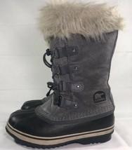 Sorel Boots Joan Arctic Grey Suede Women's Sz 4 Winter Snow Ski Knee - $49.50