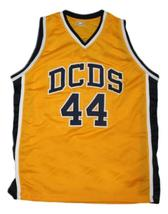 Chris Webber Detroit Country Day Basketball Jersey Sewn Yellow Any Size image 3