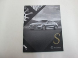 2016 Mercedes Benz S Class Coupe Sales Brochure Manual Factory Book 16 Deal Oem - $19.79