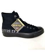 Converse Chuck 70 Hi Gore-Tex Shoes Size 8 Mens CTAS GTX Sneakers Black - $140.24