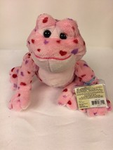 GANZ Webkinz Valentine Love Frog Bean Filled Plush Stuffed Animal Sealed... - $7.87