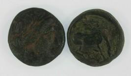 Ancien Grèce 2-coin Kit 360-325 BC Larissa 196 BC Thessalian League - $64.32