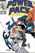 Power Pack Comic Book #29 Marvel 1987 VERY FINE/NEAR MINT NEW UNREAD - $3.50