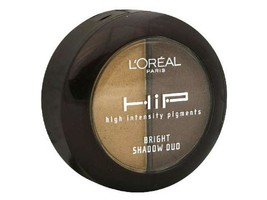 L'oreal Hip High Intensity Pigments Bright Shadow Duo, Bustling 864 - $4.94
