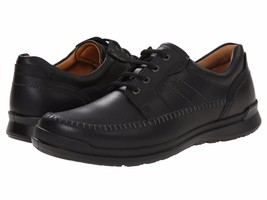 Men's ECCO Howell Moc Tie Oxfords, 524504 01001 Sizes 9-13.5 Black NIB - $149.95
