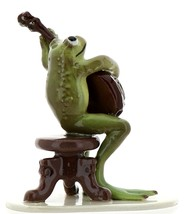 Hagen-Renaker Specialties Froggie Mountain Breakdown Bluegrass Frog Banjo   image 2