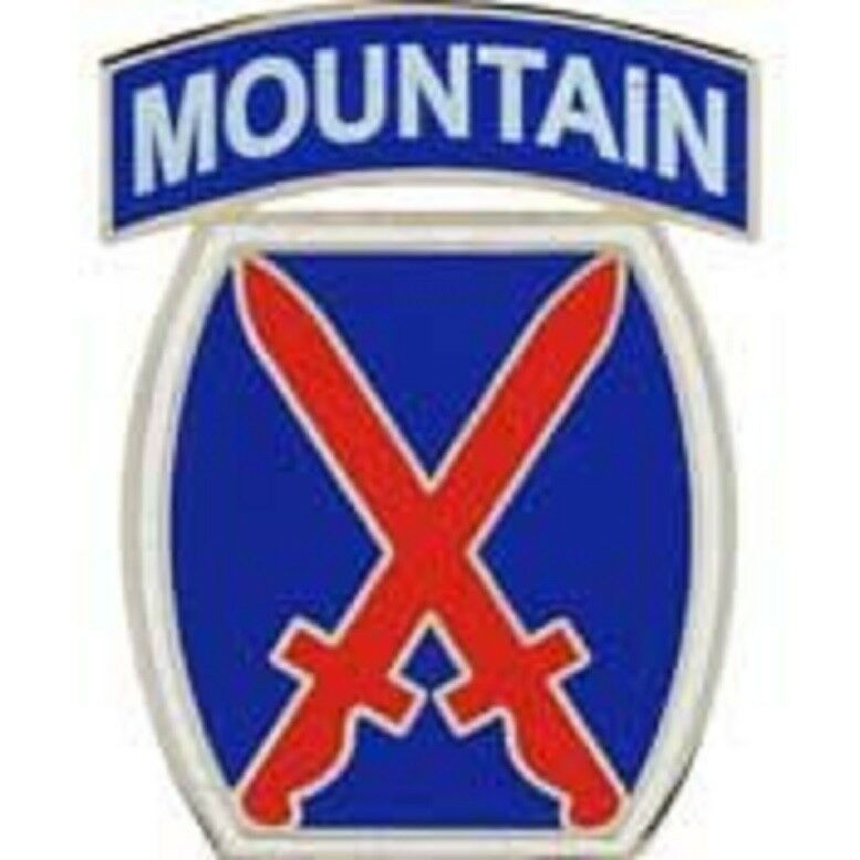 Primary image for US Army 10th Mountain Division Pin