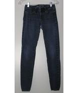 Women's Jeans Size 0 American Eagle Stretch Blue - $10.88